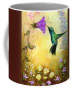 Garden Guest In Brown Coffee Mug