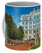 Garden In Front Of An Education Coffee Mug