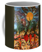Garden In Moonlight Coffee Mug
