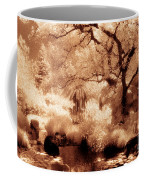Garden Lily Pond Coffee Mug