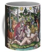 Garden Of Eden Historiae Animalium Coffee Mug