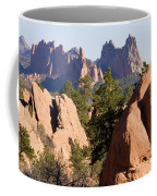 Garden Of The Gods And Red Rocks Open Space Coffee Mug