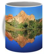 Garden Of The Gods Reflecting Coffee Mug by Diane Alexander