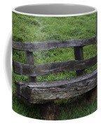 Garden Park Bench Coffee Mug