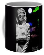 Garden Statue At Night Coffee Mug