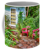 Garden Treasures At Aunt Eden's By Diana Sainz Coffee Mug