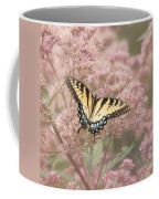 Garden Visitor - Tiger Swallowtail Coffee Mug
