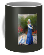 Garden Visitors Coffee Mug by Donna Tucker