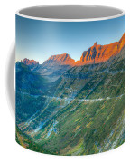 Garden Wall Sunset Coffee Mug