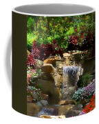 Garden Waterfalls Coffee Mug