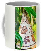 Garden Leaf Pattern Windchime Coffee Mug