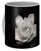 Gardenia Bloom In Sepia Coffee Mug