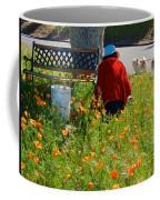 Gardening Distractions In Park Sierra-california Coffee Mug