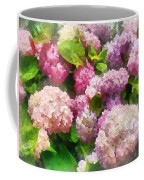 Gardens - Pink And Lavender Hydrangea Coffee Mug