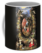 Garland Of Fruit And Flowers Coffee Mug