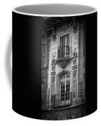Garrison Hall Window Ut Bw Coffee Mug