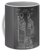 Gas Pump Patent Coffee Mug