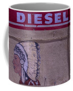 Gas Station Indian Chief Coffee Mug