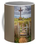 Gate To Holy Island  Coffee Mug by Adrian Evans