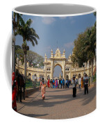 Gate To Maharaja's Palace India Mysore Coffee Mug