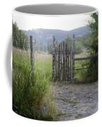 Gate To Peaceful Paradise Coffee Mug