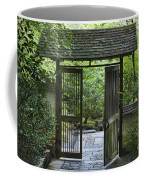 Gates Of Tranquility Coffee Mug by Sandra Bronstein
