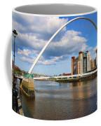 Gateshead Millenium Bridge In Newcastle 6206 Coffee Mug