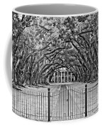 Gateway To The Old South Bw Coffee Mug by Steve Harrington