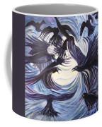 Gathering Of The Ravens Coffee Mug