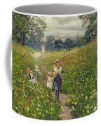 Gathering Wild Flowers  Coffee Mug