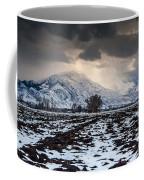 Gathering Winter Storm - Utah Valley Coffee Mug