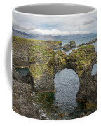 Gatklettur Arch In Hellnar Coffee Mug