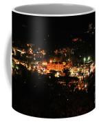 Gatlinburg At Night Coffee Mug by Nancy Mueller