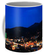 Gatlinburg Skyline At Night Coffee Mug