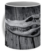 Gator Black And White Coffee Mug