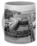 Gatun Locks Panama Monochrome Coffee Mug