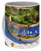 Gaudi's Park Guell - Impressions Of Barcelona Coffee Mug