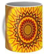 Gazania Kaleidoscope Coffee Mug