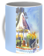 Gazebo On The City Square Coffee Mug by Kip DeVore