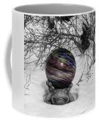 Gazing Ball Squared Coffee Mug