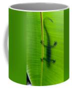 Gecko Silhouette Coffee Mug