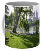 Geese In Central Park Nyc Coffee Mug