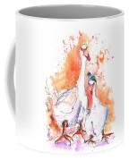 Geese In Spanish Winter Coffee Mug