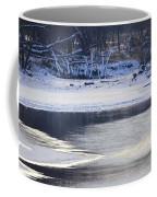Geese On Ice Coffee Mug