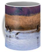 Geese Up And Away Coffee Mug