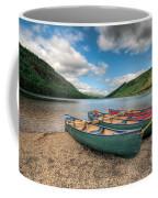 Geirionydd Lake Coffee Mug by Adrian Evans