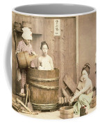 Geishas Bathing Coffee Mug