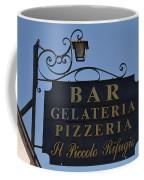 Gelateria Pizzeria Coffee Mug