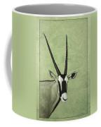 Gemsbok Coffee Mug by James W Johnson