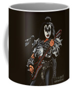 Gene Simmons Of Kiss Coffee Mug